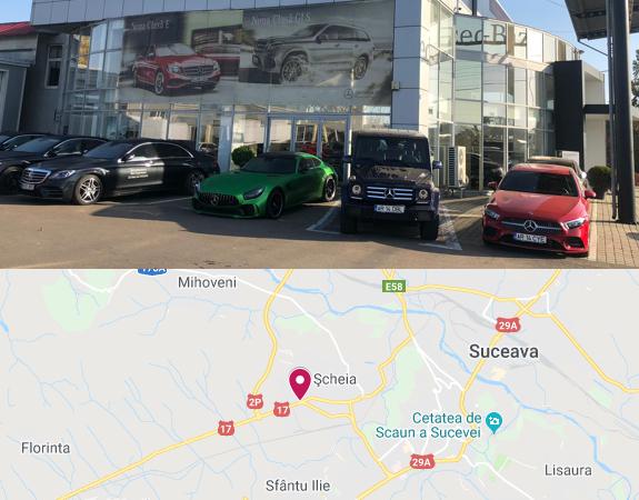 Auto-Schunn-Suceava - partener autorizat Mercedes-Benz