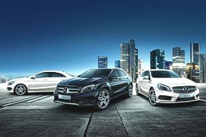 auto Mercedes-Benz noi
