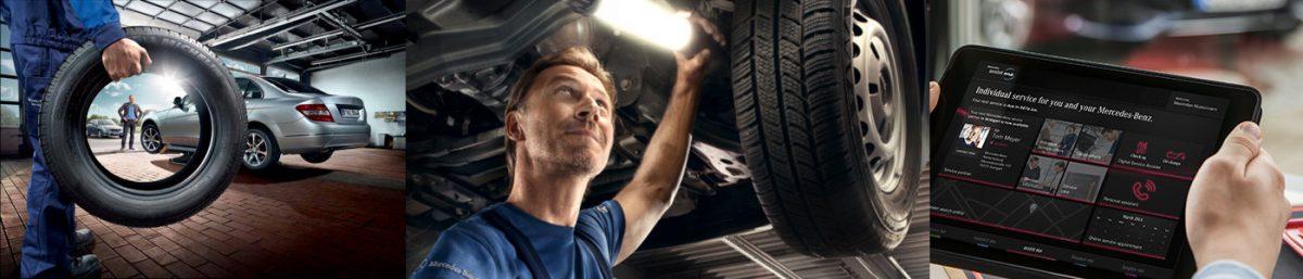 service camioane Mercedes