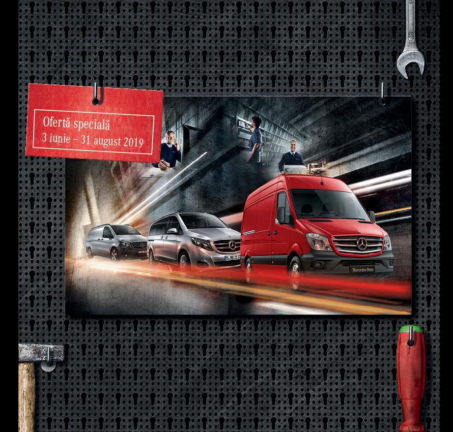 promotie suspensie si directie Mercedes-Benz Vito si Sprinter