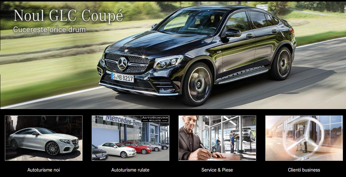 Auto Schunn dealer Mercedes Benz Arad